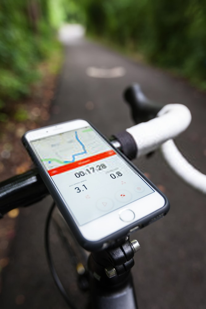 The Ailun Silicone Strap Bike Phone Mount