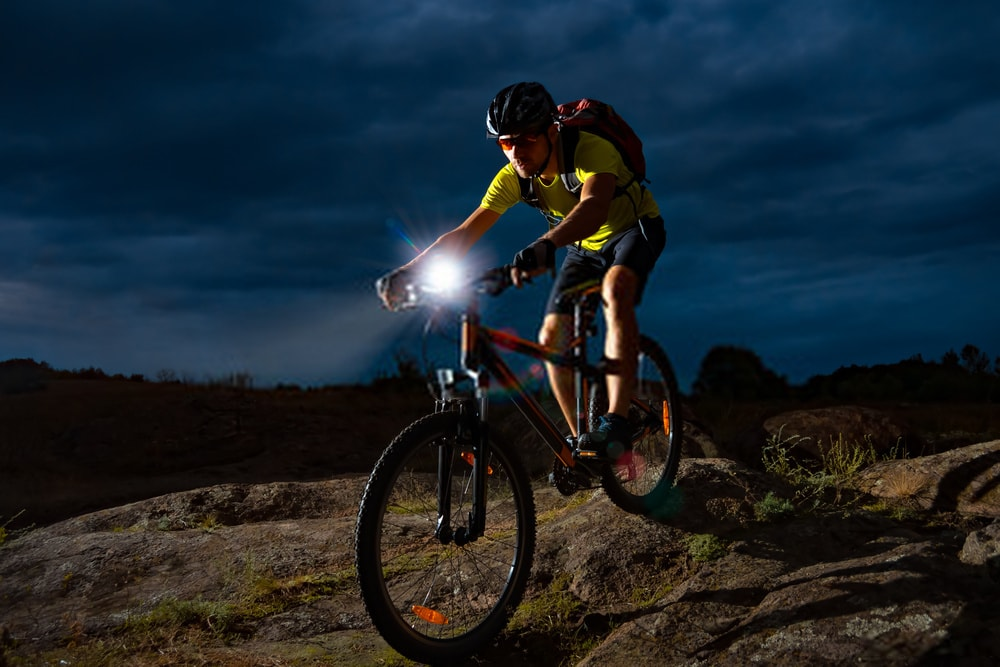 The Ascher USB Rechargeable Bike Lights