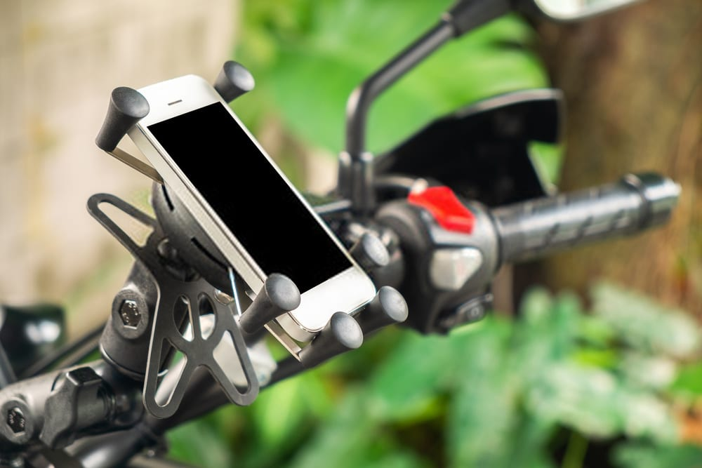The RAM X-Grip Bike Phone Mount