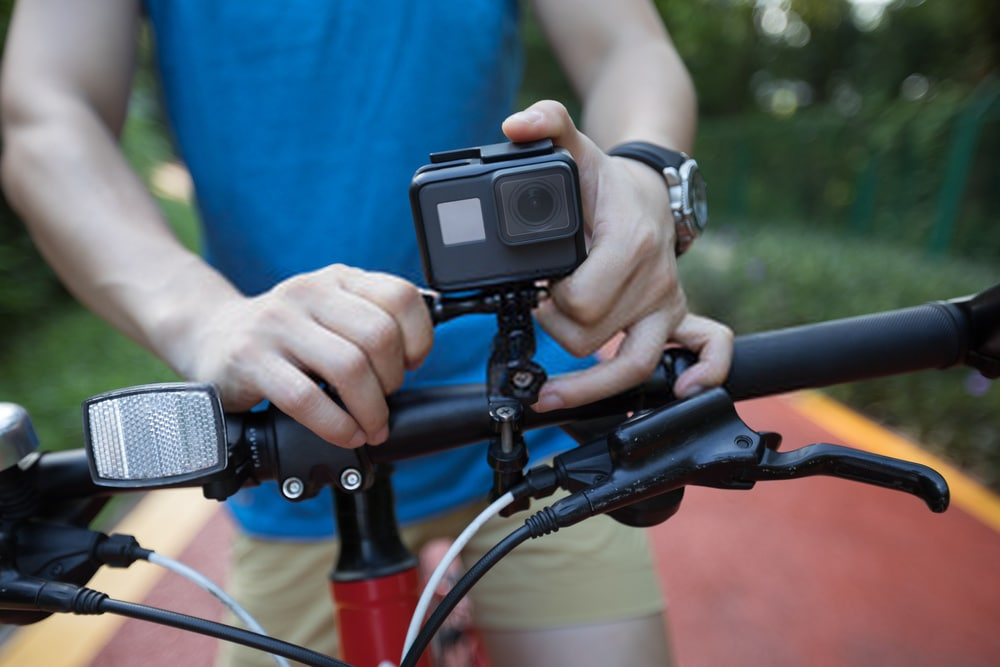 The Olympus TG-Tracker Bicycle Cameras