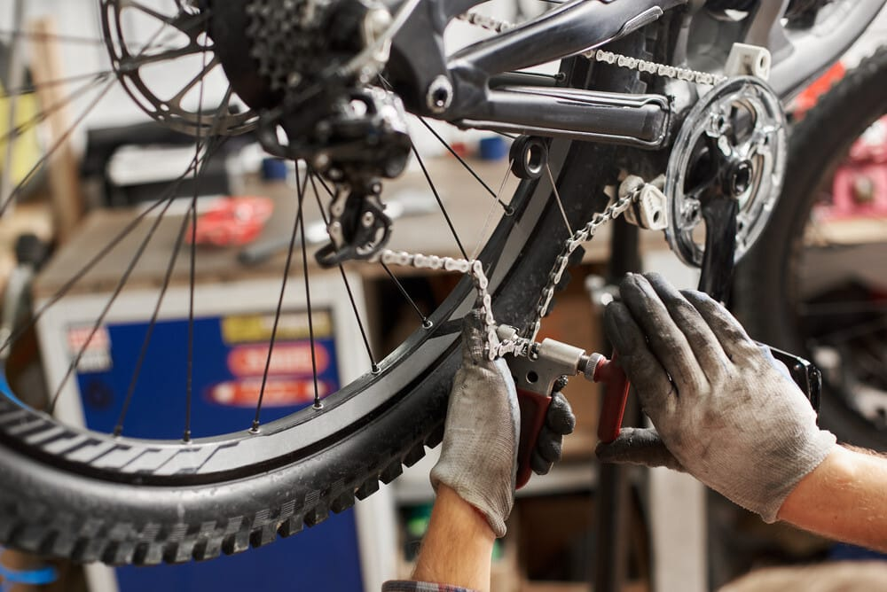 Removing Bike Chain Links With Tools