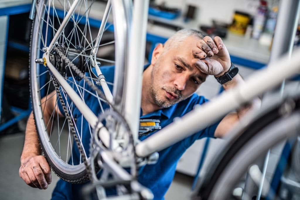 Removing your bike pedals without an Allen wrench
