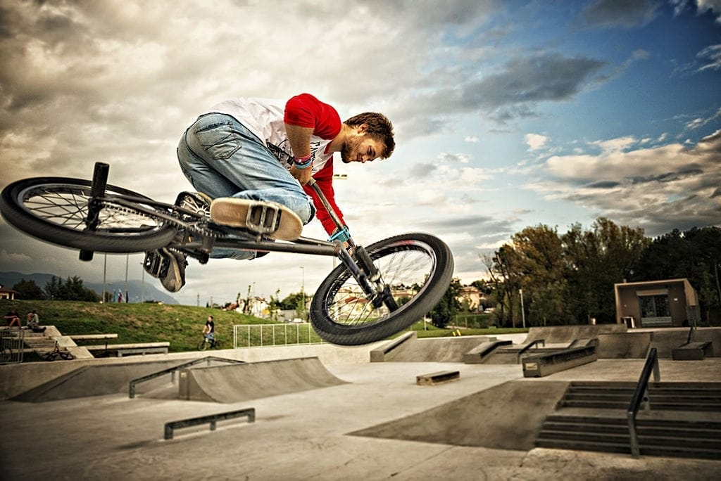 The Mongoose L80 Freestyle BMX Bike