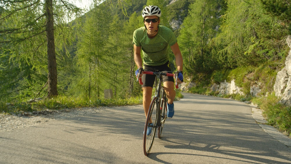 The bicycle touring